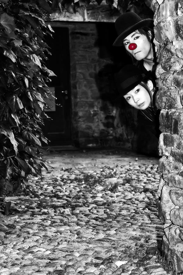 Clown Photograph - Clown Couple by Joana Kruse