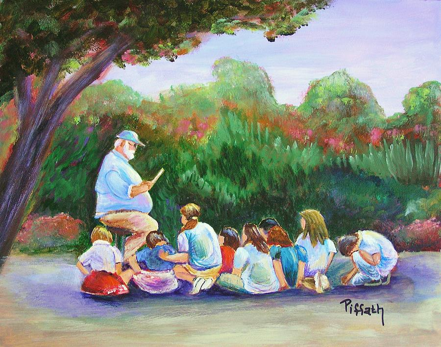 Pe Painting - Coach by Patricia Piffath