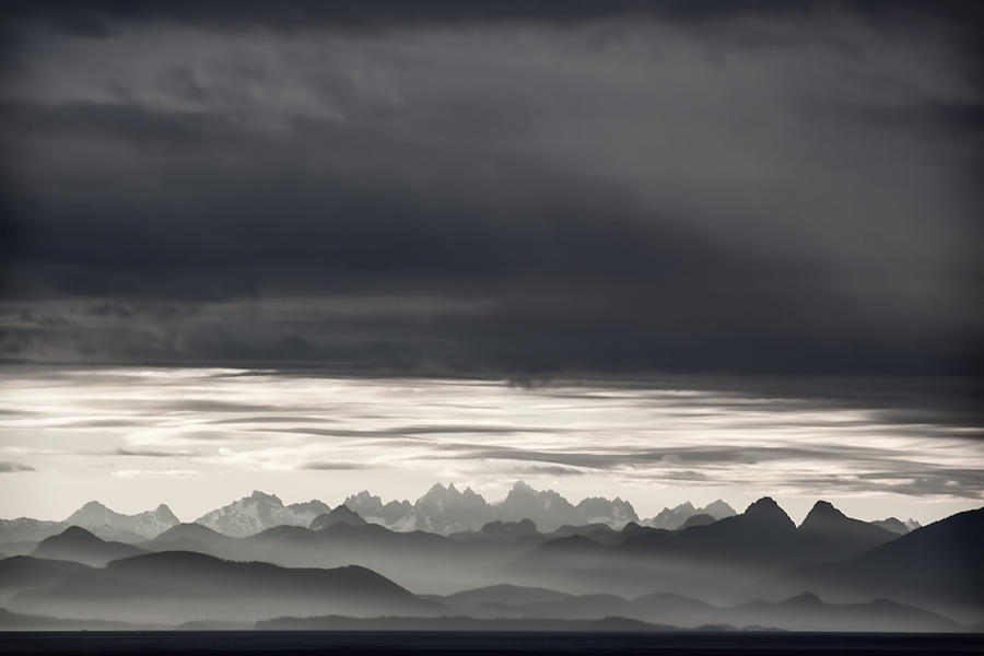 Inside Passage Photograph - Coastal British Columbia by Carol Leigh