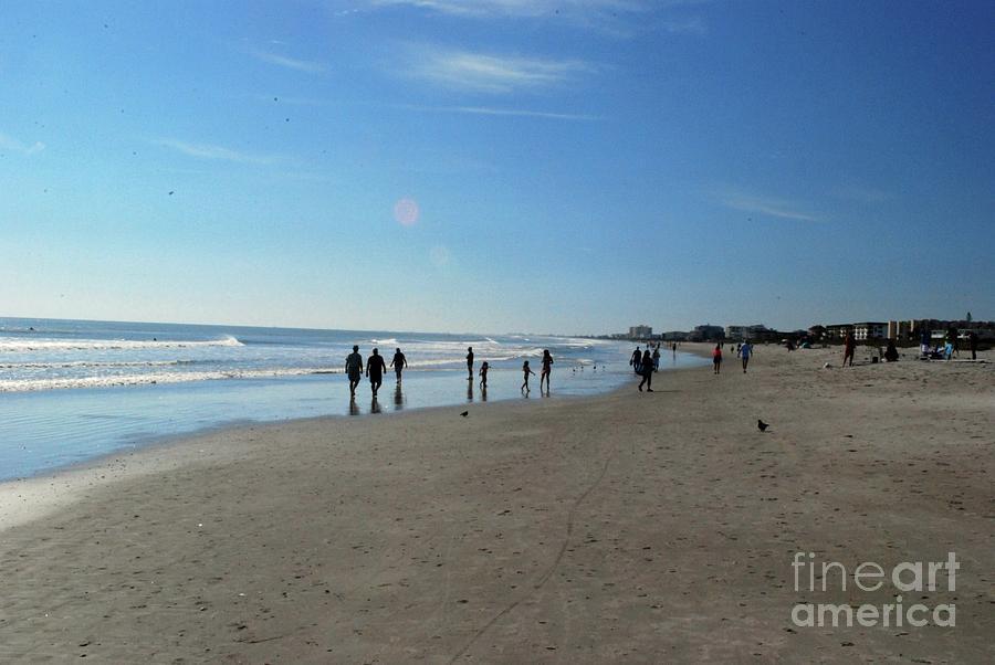 Florida Photograph - Cocoa Beach Florida by Gary Wonning
