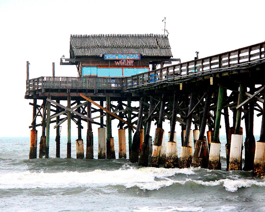 Nature Photograph - Cocoa Beach Pier by W Gilroy