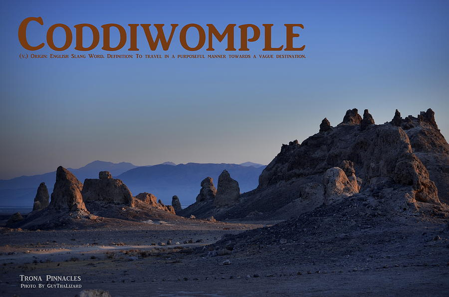 Coddiwomple by Guy Hoffman