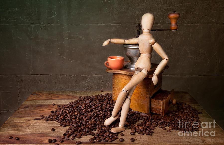 Still Photograph - Coffee Break by Nailia Schwarz