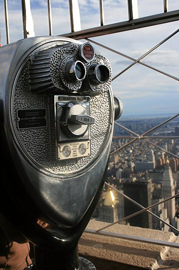 New York Photograph - Coin Operated Viewer by Debbie Cundy