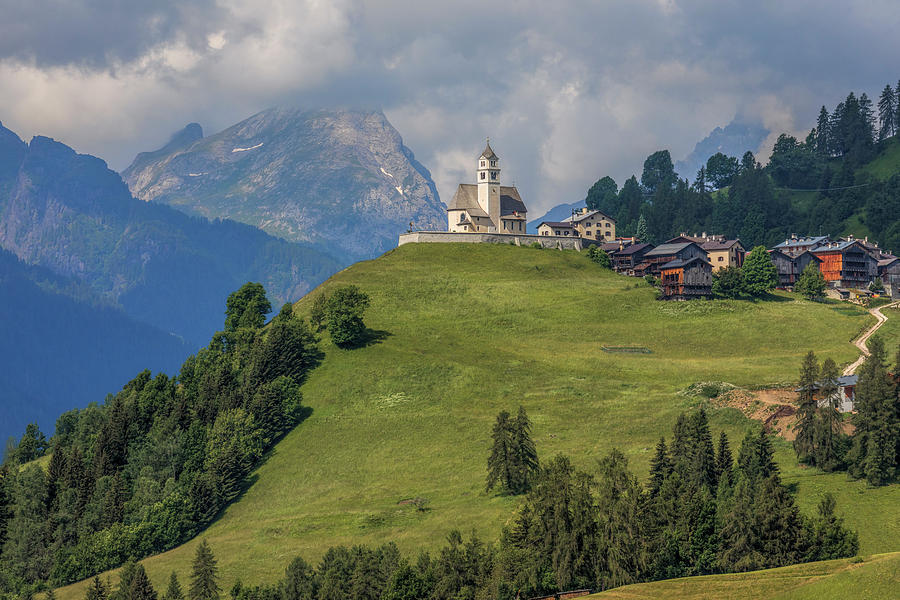 Belluno Photograph - Colle Santa Lucia - Italy 1 by Joana Kruse
