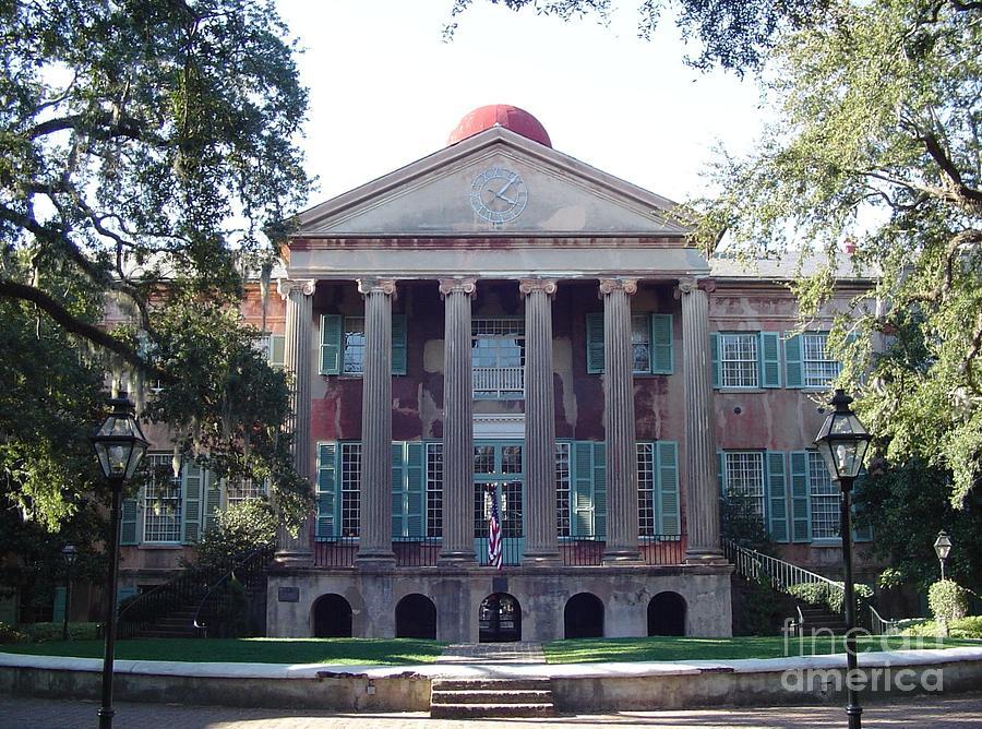 South Carolina Photograph - College Of Charleston by Richard Marcus