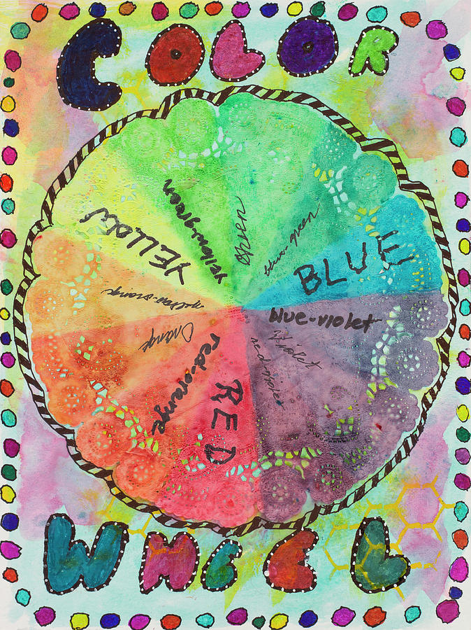 Color Wheel by Dawn Boswell Burke