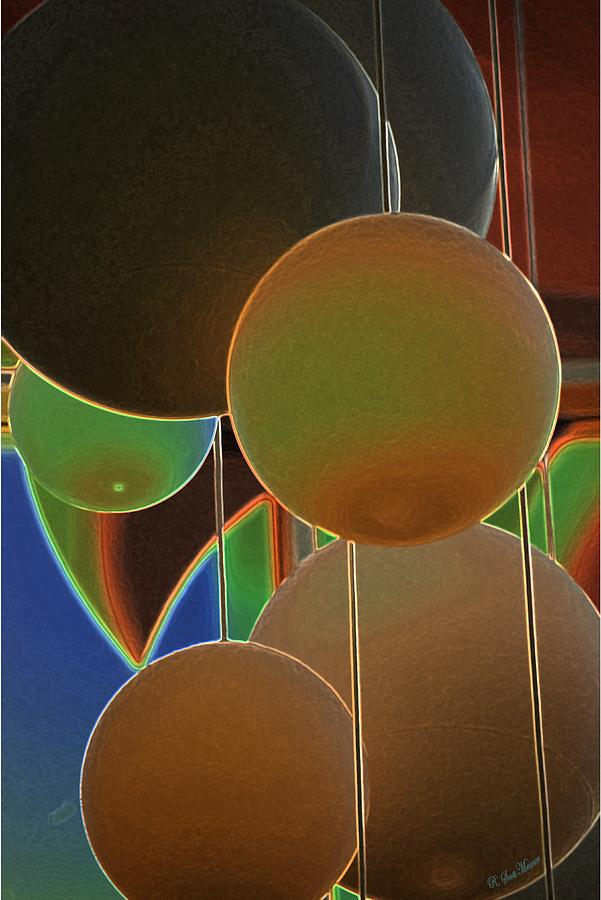 Colored Bubbles Photograph - Colored Bubbles by Robert Meanor