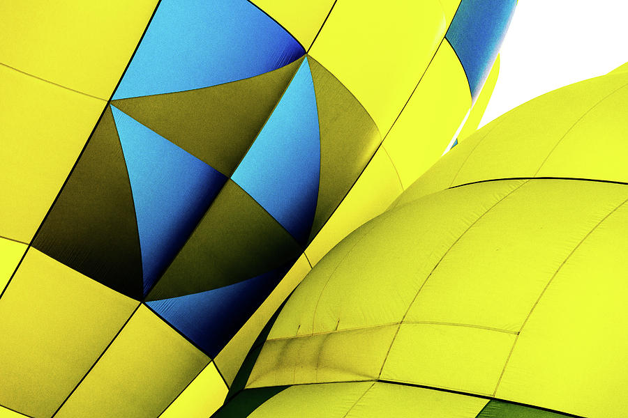 Colorful Abstract Hot Air Balloons by Pete Hendley