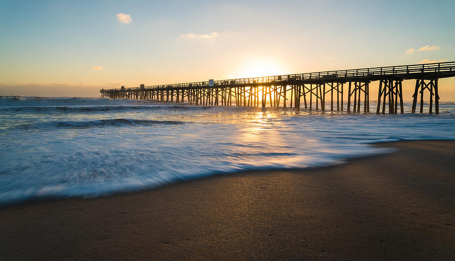 Flagler Beach Photograph - Colorful Start by Kristopher Schoenleber