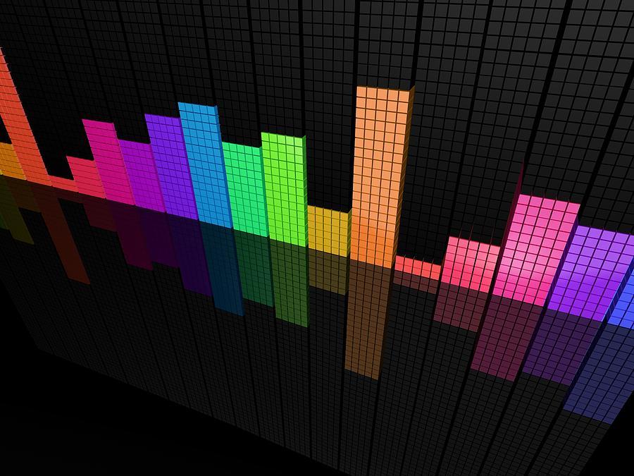 Colors Digital Art - Colors by Dorothy Binder