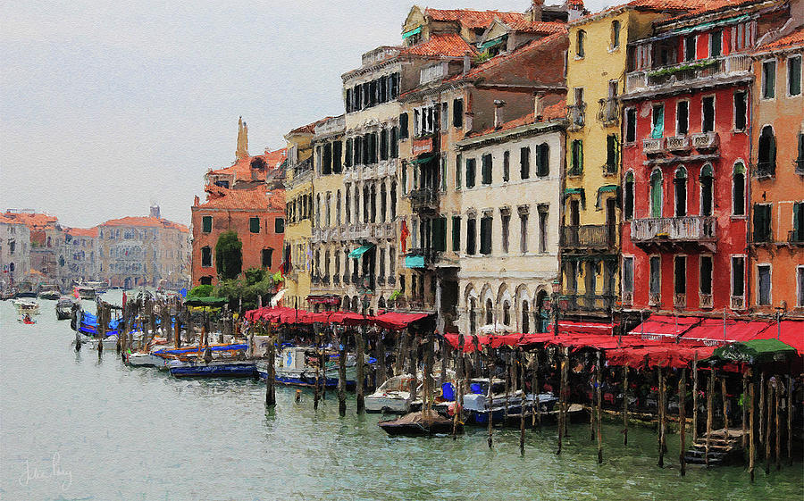 Colours of the Grand Canal by Julian Perry