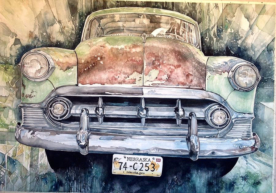 Condons Coupe Painting by Lance Wurst