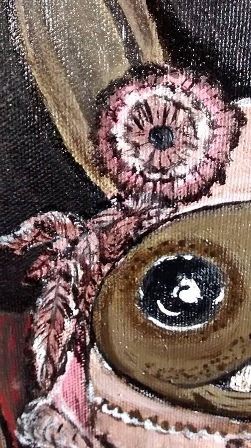 Conejos En Marte Painting by Kika Coles