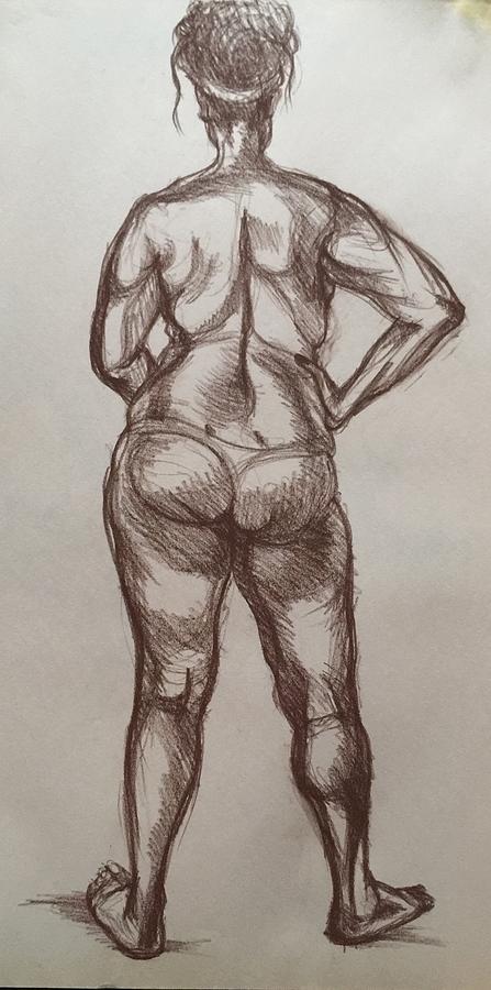 Confidence  Drawing by Anastasiya Baron