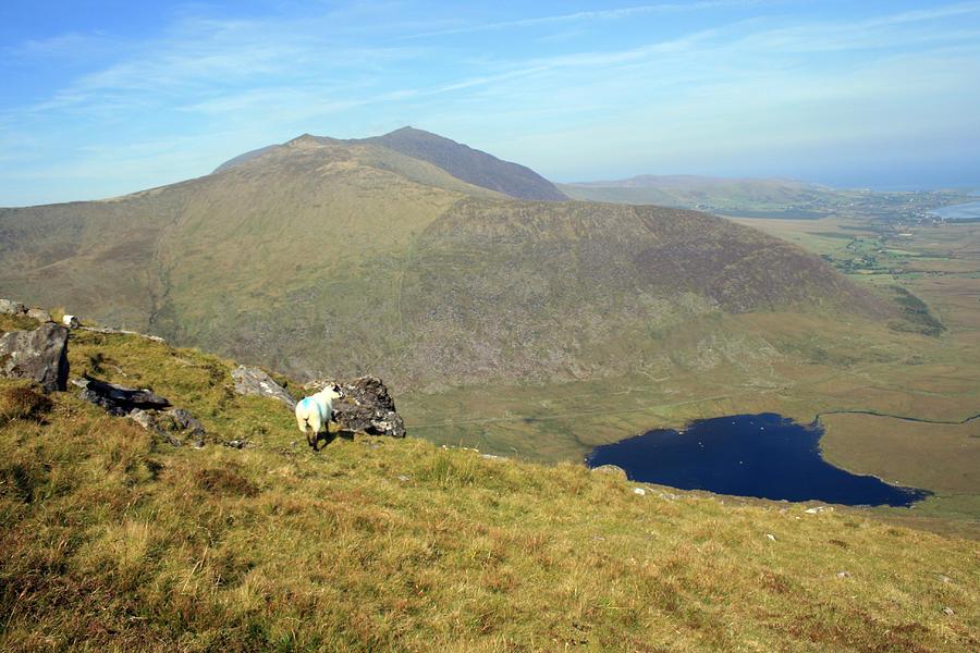 Kerry Photograph - Connor Pass View by John Quinn