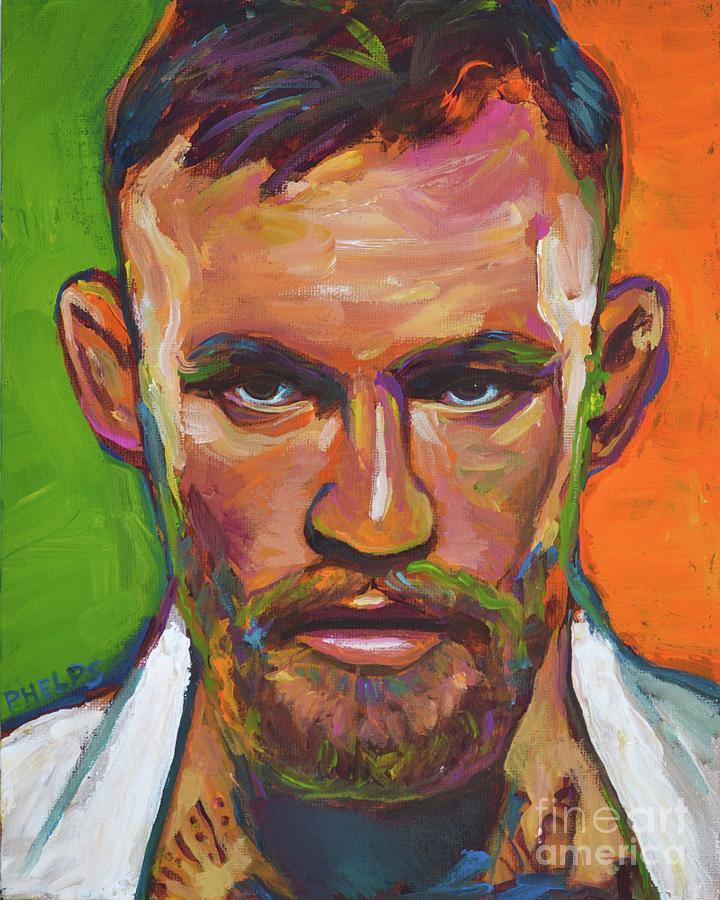 Conor Mcgregor Canvas Painting