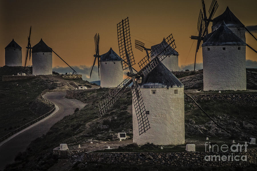 Consuegra Windmills 2 Photograph