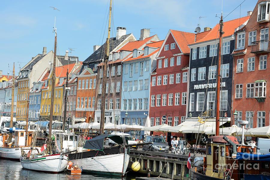 Copenhagen Photograph - Copenhagen Harbor II by Andrea Simon