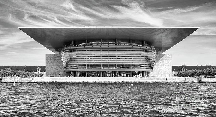 Baltic Sea Photograph - Copenhagen Opera House by Lasse Ansaharju