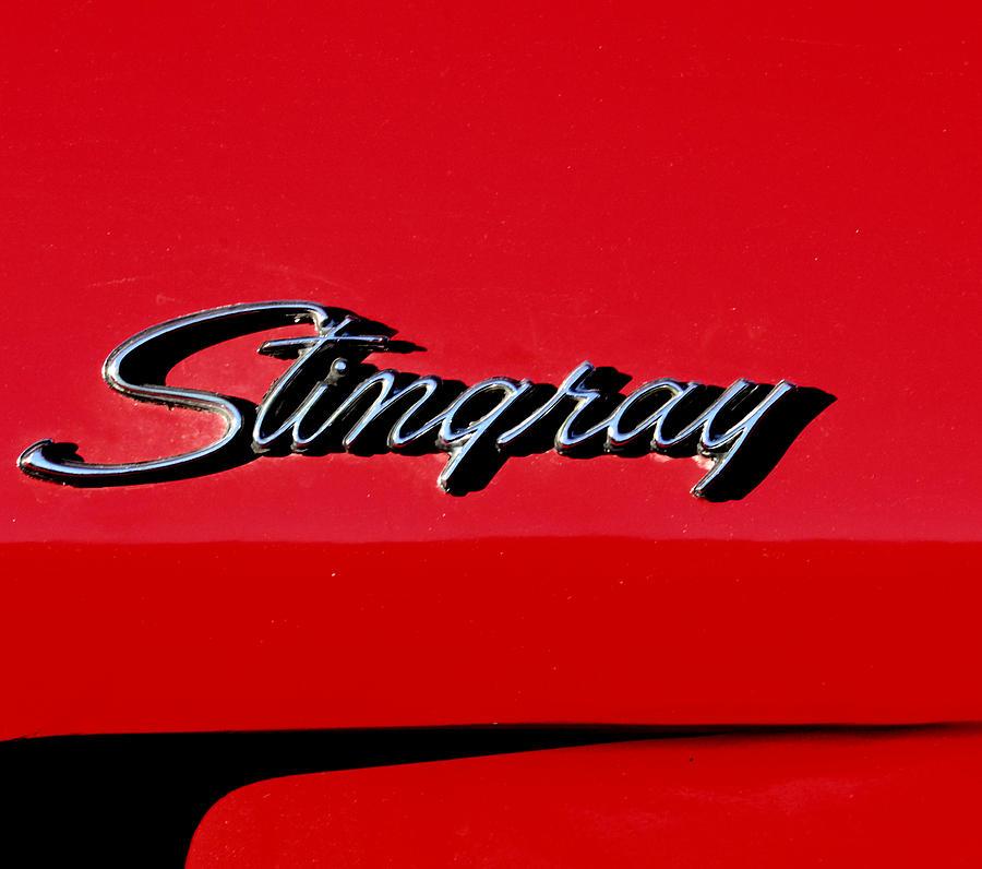 Corvette Stingray Photograph