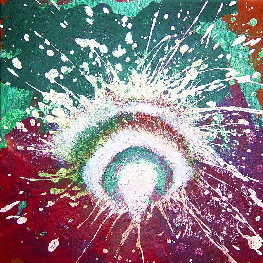Cosmogony Painting - Cosmogony by Bebe Brookman