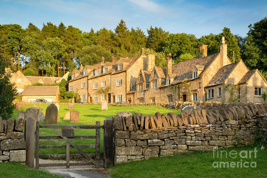 Barnabas Photograph - Cotswolds Evening by Brian Jannsen