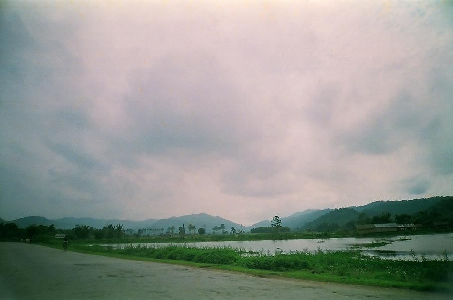 Road Photograph - Countryside In Assam by Abir Bordoloi