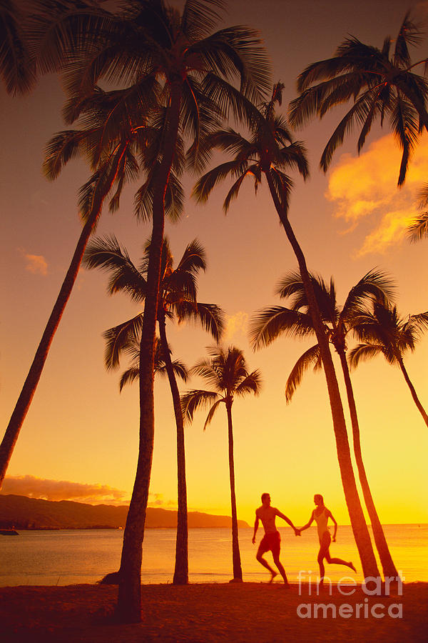 Affection Photograph - Couples Vacation by Dana Edmunds - Printscapes