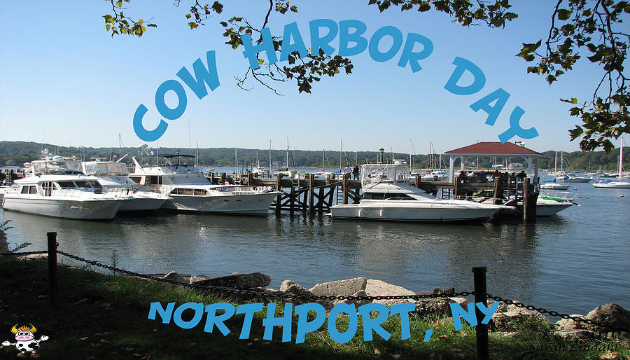 Northport Ny Photograph - Cow Harbor Day Fun by SJ Lindahl