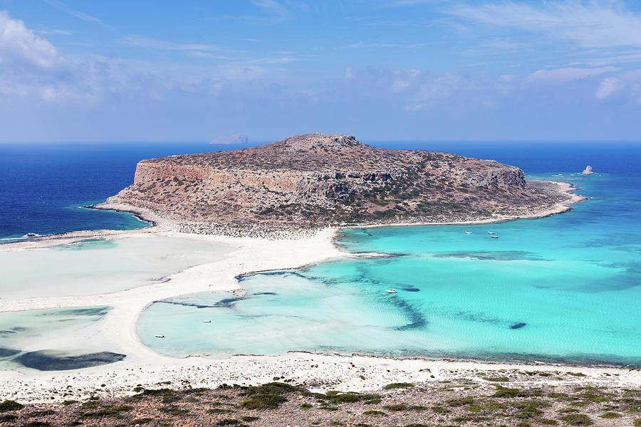 Aegean Sea Photograph - Crete by Evgeni Dinev