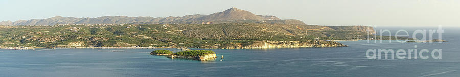 Greece Photograph - Crete Panoramic by HD Connelly
