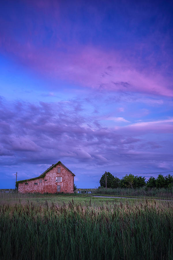 Maryland Photograph - Crocheron Skies by Robert Fawcett