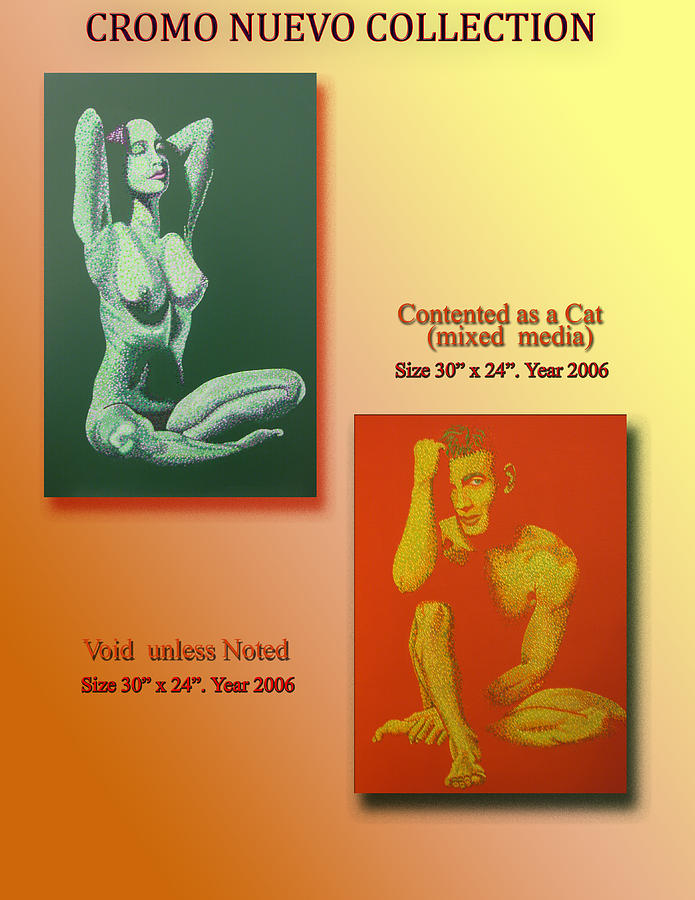 Nude Painting - Cromo Nuevo Collection by Pablo Hernandez