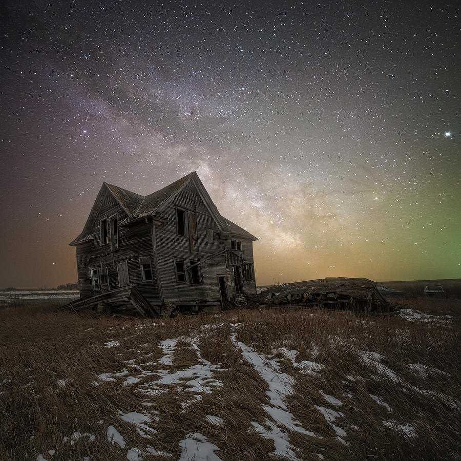 Jupiter Photograph - Crooked by Aaron J Groen