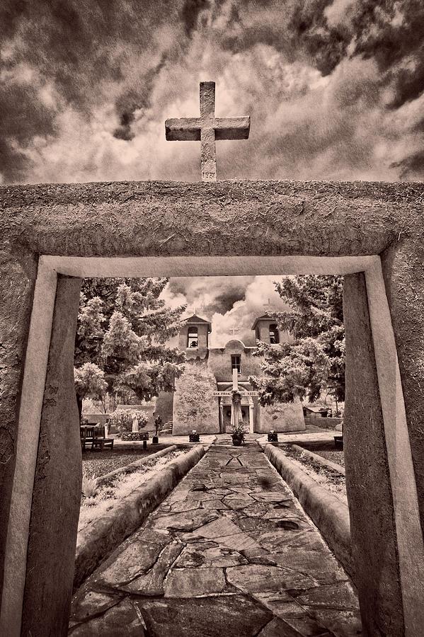 Cross At San Francisco De Asis Photograph