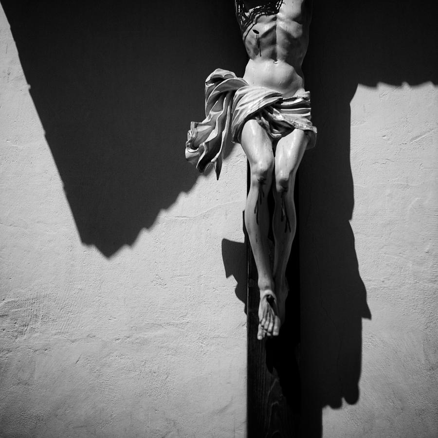 Crucifixion Photograph - Crucifixion by Dave Bowman