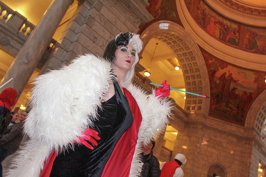 Cosplay Photograph - Cruella by Billy Joe