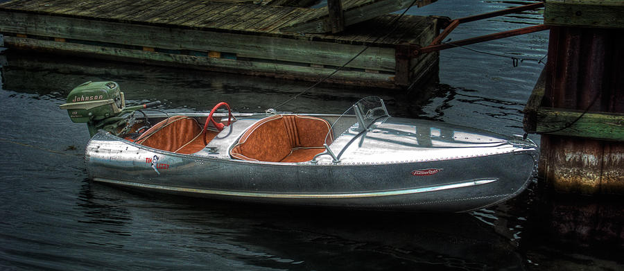 Feather Craft Aluminum Boat For Sale