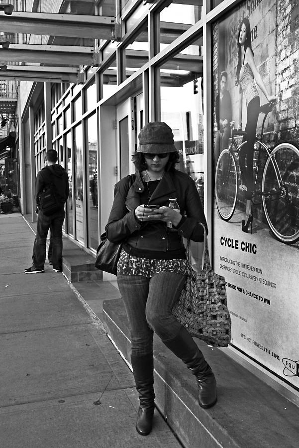 Woman Photograph - Cycle Chic by Frank Winters
