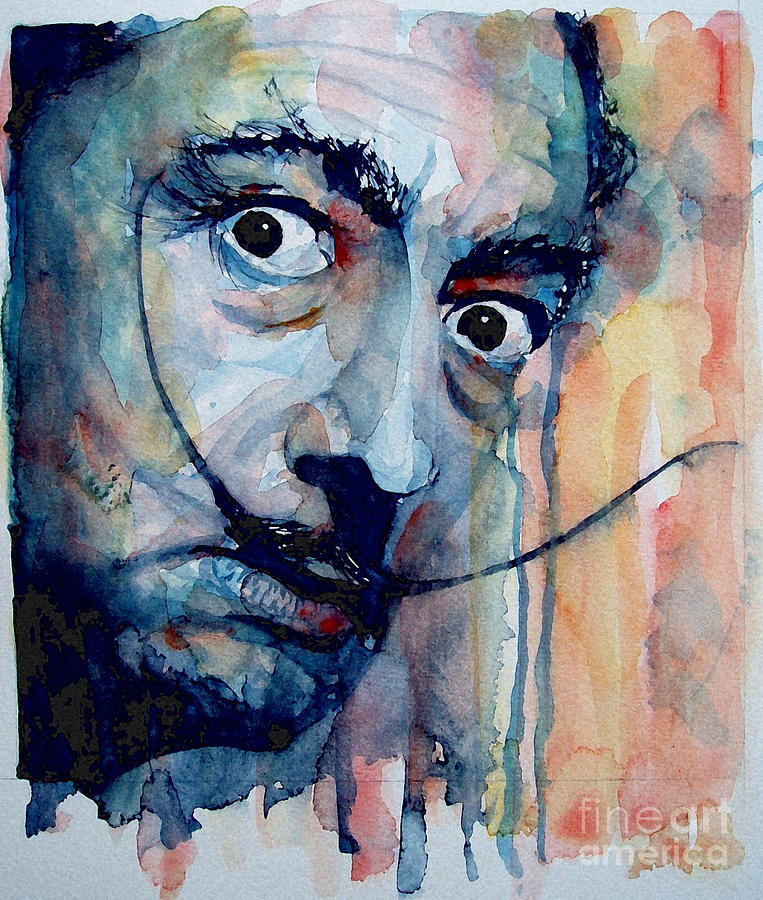 Dali Painting By Paul Lovering
