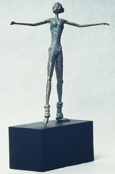 Dancer Sculpture - Dancer by Ric Larson