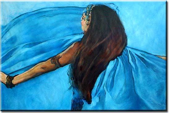 Dancer Painting - Dancer by Yvonne Yu