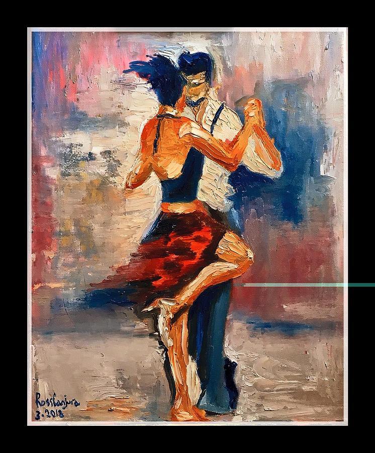 Dancing Painting by Carlos Garcia