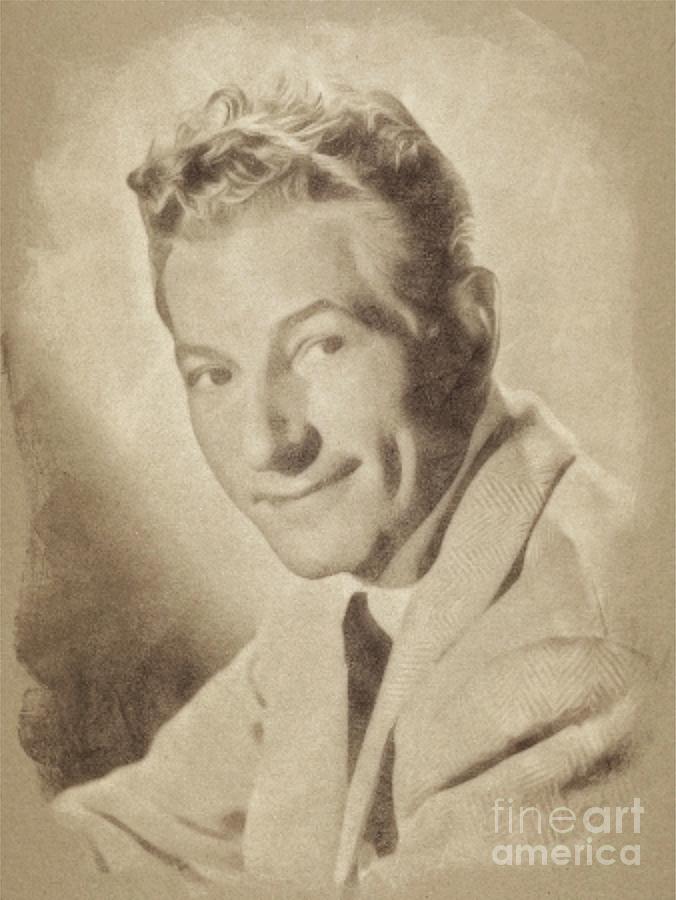Danny Kaye, Actor Drawing
