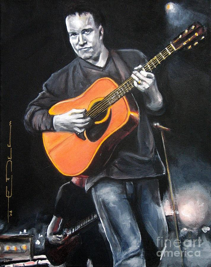 Music Painting - Dave Mathews Band by Eric Dee
