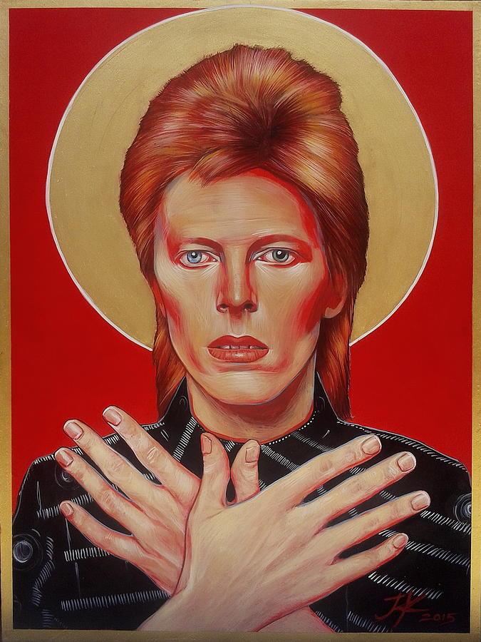 David Bowie Painting - David Bowie by Jovana Kolic