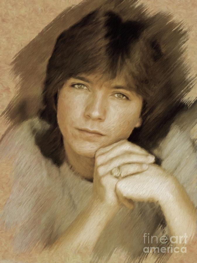 David Cassidy, Actor Painting