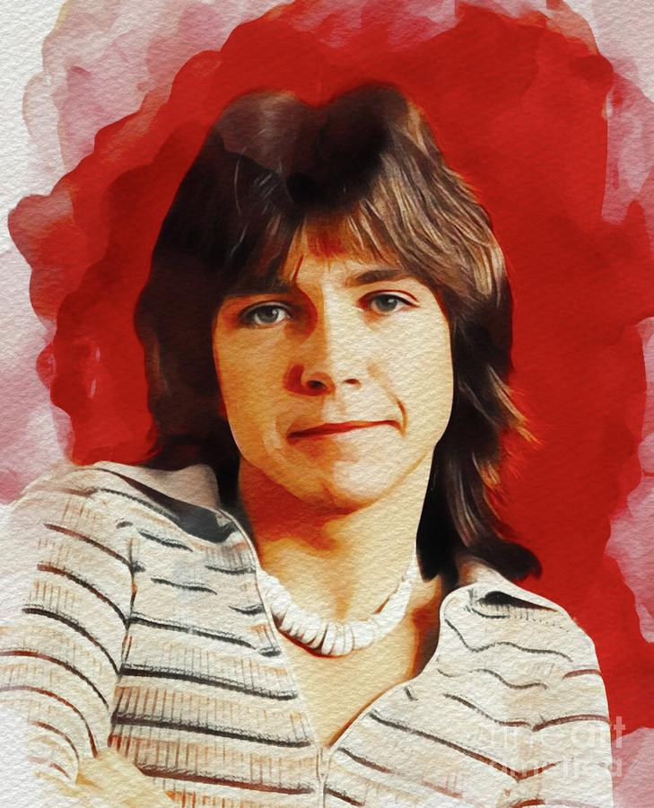 David Cassidy, Hollywood Legend Painting
