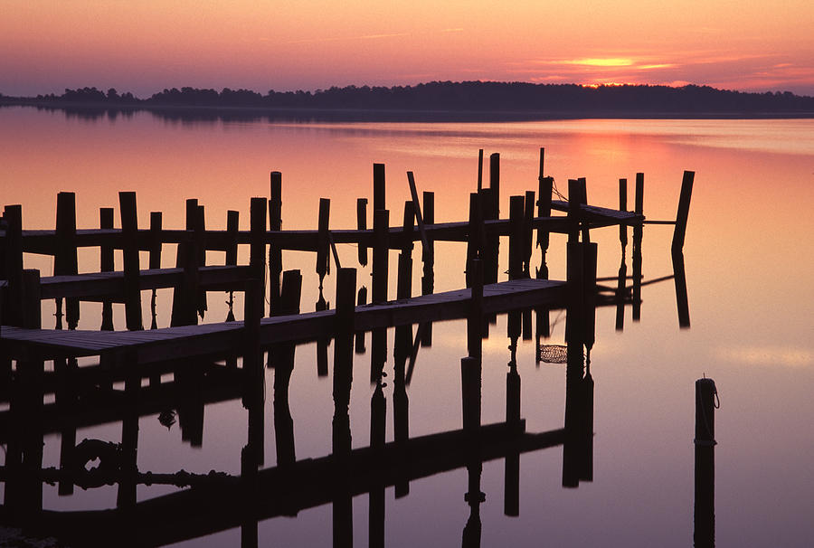 North Carolina Photograph - Dawn On The Bay by Eric Foltz